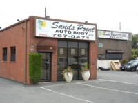 Sands Point Auto Body Shop - South Bayles Avenue, Port Washington