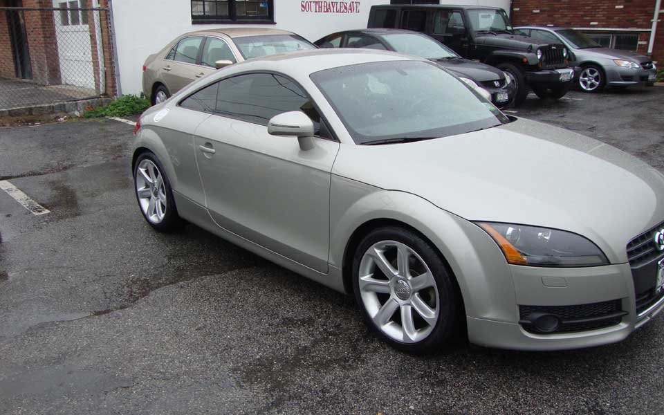 Audi TT repair and body work