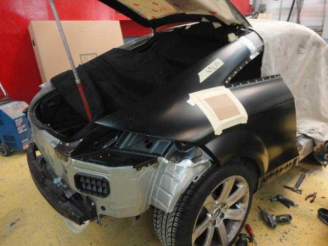 BMW repair and body work