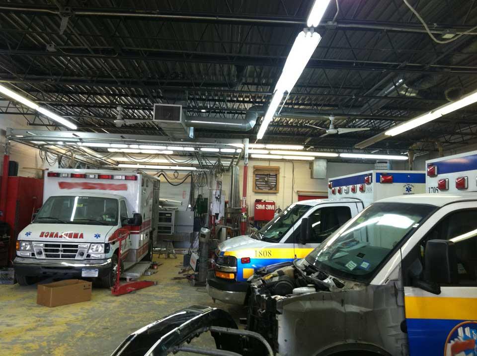 Ambulance repair and body work