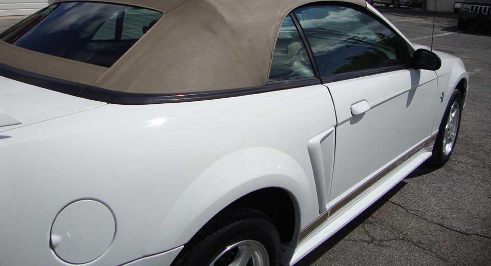 Mustang repair and body work
